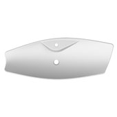 Kong 70-R Above Counter Bathroom Sink in White, Single Hole; 27-3/5'' x 15-3/10''