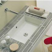 Tech Under Counter Bathroom Sink in White, 21-1/2'' W x 14-1/2'' D x 6-1/3'' H