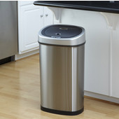 13.2 Gallon Stainless Steel Infrared Trash Can