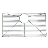 Polished Stainless Steel Bottom Grid, 24-7/8''W x 13-3/8''D x 1''H