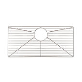 Polished Stainless Steel Bottom Grid, 26-3/4''W x 14-1/8''D x 1''H