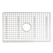 Vineyard Collection 27-1/2''W Stainless Steel Kitchen Sink Bottom Grid