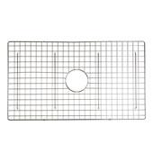 Vineyard Collection 29-7/8''W Stainless Steel Kitchen Sink Bottom Grid