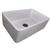 Vineyard Collection 30'' Farmhouse Fireclay Sink in Pietra Sarda, 29-3/4'' W x 19-3/4'' D x 10'' H