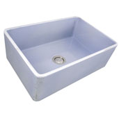 Vineyard Collection 30'' Farmhouse Fireclay Sink in Shabby Sugar, 29-3/4'' W x 19-3/4'' D x 10'' H