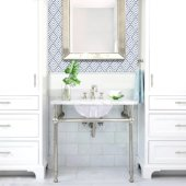 Great Point Collection Glazed Bottom Undermount Oval Ceramic Bathroom Sink in White, 17-1/8'' Diameter x 13-3/4'' D, 7'' Bowl Depth