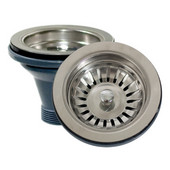 Kitchen Sink Drain with Basket Strainer Designed for use with NT-NS04-16 and NT-NS2522-D