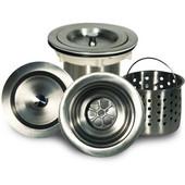 - Stainless Steel Kitchen Sink Drain, 3 1/2'' Diameter