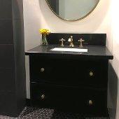 Great Point Collection Undermount Rectangular Ceramic Sink, White, 18''W x 12-7/8''D x 7-3/8''H