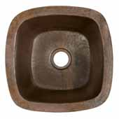 Rincon Bar and Prep Sink in Antique Copper, 13''W x 13''D x 6-1/2''H