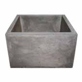 Ventana Bar and Prep Sink in Ash, 15''W x 15''D x 8''H