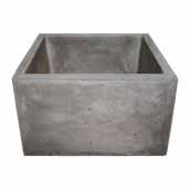 Ventana Bar and Prep Sink in Ash, 15''W x 15''D x 8''H