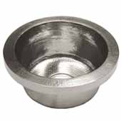 Mojito Bar and Prep Sink in Brushed Nickel, 16''Diameter x 7-1/2''H