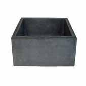 Ventana Bar and Prep Sink in Slate, 15''W x 15''D x 8''H