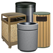 outdoor trash cans - Industrial Trash Cans