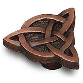 Designs Monarch Collection 1-1/2'' Diameter Celtic Knot Cabinet Knob in Natural Pewter, 1-1/2'' Diameter x 13/16'' D x 13/16'' H