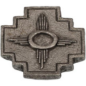 Designs Arizona Collection 1-1/2'' W Southwest Design Cabinet Knob in Natural Pewter, 1-1/2'' W x 7/8'' D x 7/8'' H