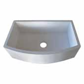 Farmhouse Quartet Kitchen Sink In Pearl, 33''W X 20-1/2''D X 10-1/4''H