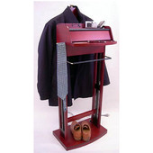 Products Excalibur Wardrobe Valet in Dark Mahogany