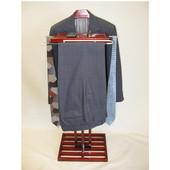 - Kyoto Wardrobe Valet, 17'' W x 12 1/2� D x 45� H, Mahogany
