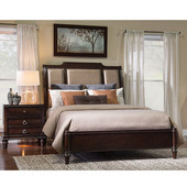 Powell New Haven Queen Bed in Dark Akzo Nobel , 66-5/8''W x 91-3/4''D x 60''H