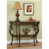 Powell - Masterpiece Console Table, 43'' W x 15 1/2'' D x 31'' H, Mahogany