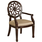 Powell Spider Web Back Accent Chair, 21-1/2''W x 23-3/4''D x 38-3/4''H
