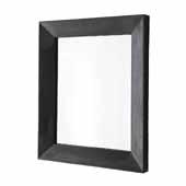 Portola Small Mirror in Slate, 22''W x 1-3/4''D x 26''H