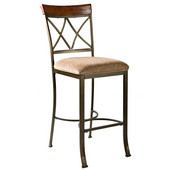 Hamilton Bar Stool, 19''W x 22-1/2''D x 46''H, Seat Height: 29''