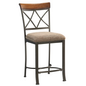 Hamilton Counter Stool, 19''W x 22-1/2''D x 41''H, Seat Height: 24''