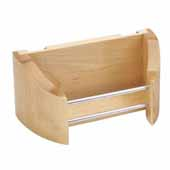 Rev-A-Shelf 8'' Wide Wood Storage Tray For Your Cabinet Door, Single Tray, Min Cab Opening: 4-7/8'' W x 4-1/2'' D x 3-3/4'' H