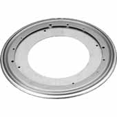 Rev-A-Shelf 7'' Steel Swivel Bearing with Stop for D-Shape and Kidney Lazy Susans