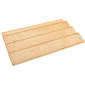 Rev-A-Shelf Wood Spice Kitchen Drawer Insert, Maple, for Base Cabinet 36'' or Smaller