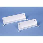 Rev-A-Shelf 11'' Sink Tip-Out Trays with Tab Stops, White