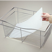 Rev-A-Shelf Closet Basket Plastic Liners for CB Series Wire Baskets 18'' W x 14'' Dx 7'' H, Available in Multiple Options