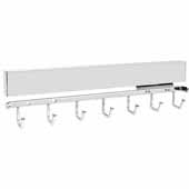 Sidelines by Rev-A-Shelf 14'' Deep Deluxe Metal Pull-Out Belt Rack, Chrome