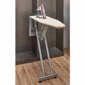 Sidelines by Rev-A-Shelf Premier Pop-Up Ironing Board with Soft-Close, 10''W x 13-15/32''D x 43-5/16''H