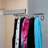 Sidelines by Rev-A-Shelf Deluxe Pull-Out Scarf Rack, 1-25/32''W x 13-25/32''D x 4-1/8''H