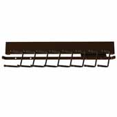 Sidelines by Rev-A-Shelf Deluxe 14'' Deep Pull-Out Metal Tie Rack, Bronze