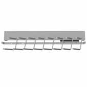 Sidelines by Rev-A-Shelf Deluxe 14'' Deep Pull-Out Metal Tie Rack, Satin Chrome