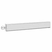 Sidelines by Rev-A-Shelf 12'' Pop-Out Metal Valet Rod, Chrome