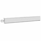 Sidelines by Rev-A-Shelf 14'' Telescopic Metal Valet Rod, Chrome