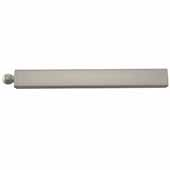 Sidelines by Rev-A-Shelf 14'' Telescopic Metal Valet Rod, Satin Nickel