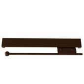 Sidelines by Rev-A-Shelf 14'' Pull-Out Metal Valet Rod, Bronze