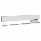 Sidelines by Rev-A-Shelf 14'' Pull-Out Metal Valet Rod, Chrome
