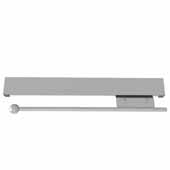 Sidelines by Rev-A-Shelf 14'' Pull-Out Metal Valet Rod, Satin Chrome