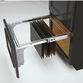 Rev-A-Shelf Pull-Out File Drawer System for Kitchen or Desk Cabinet, 15'' W x 17-3/4'' D x 10-1/2'' H, Min Cab Opening: 15'' W x 17-3/4'' D x 10-1/2'' H