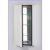M Series 16X30 Medicine Cabinet, Flat Door, Pencil Edge, Left Side Hinges, Electric, 15-1/4'' W x 8'' D x 30'' H
