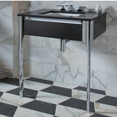 Balletto Collection Slim Drawer Bathroom Vanity with Plumbing Drawer in Multiple Sizes and Color Options