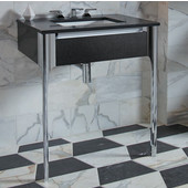 Balletto Collection Slim Drawer Bathroom Vanity with Night Light and Tip Out Drawer in Multiple Sizes and Color Options